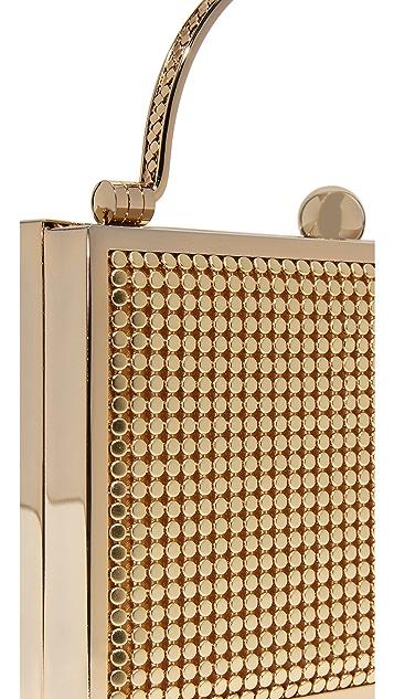 Whiting & Davis Bond Street Box Clutch