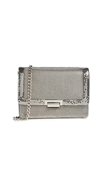 Whiting & Davis Milano Pyramid Clutch