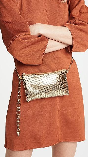 Whiting & Davis Belt Shoulder Bag