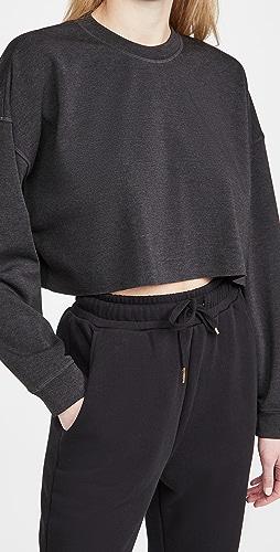 WeWoreWhat Active - Cropped Sweatshirt