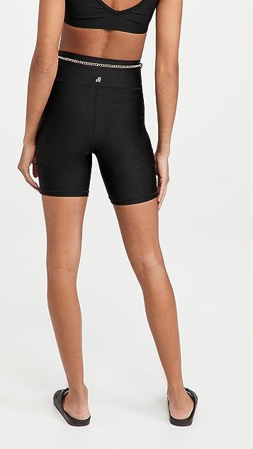 WeWoreWhat Active Chain Bike Shorts