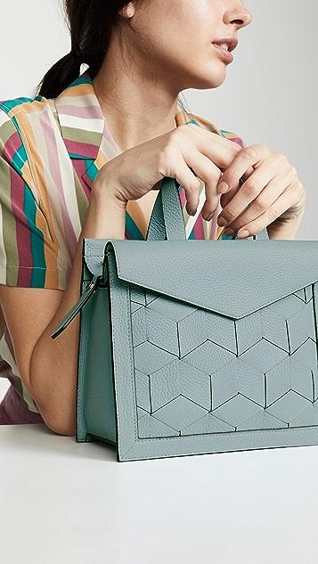 Welden Маленькая сумка-портфель Voyager с клапаном