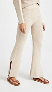 We Over Me Lodi Ribbed Knit Pants