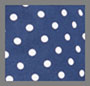 темно-синий рисунок в горошек