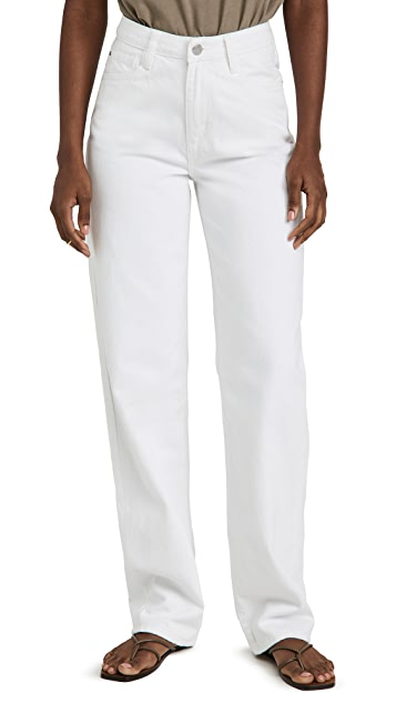 WeWoreWhat Mid Rise Straight Leg Jeans