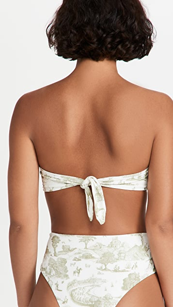 WeWoreWhat Ring Bandeau Top
