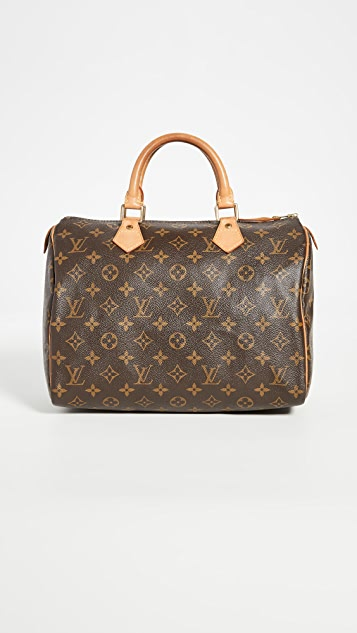 What Goes Around Comes Around Louis Vuitton 交织字母 Speedy 30 包