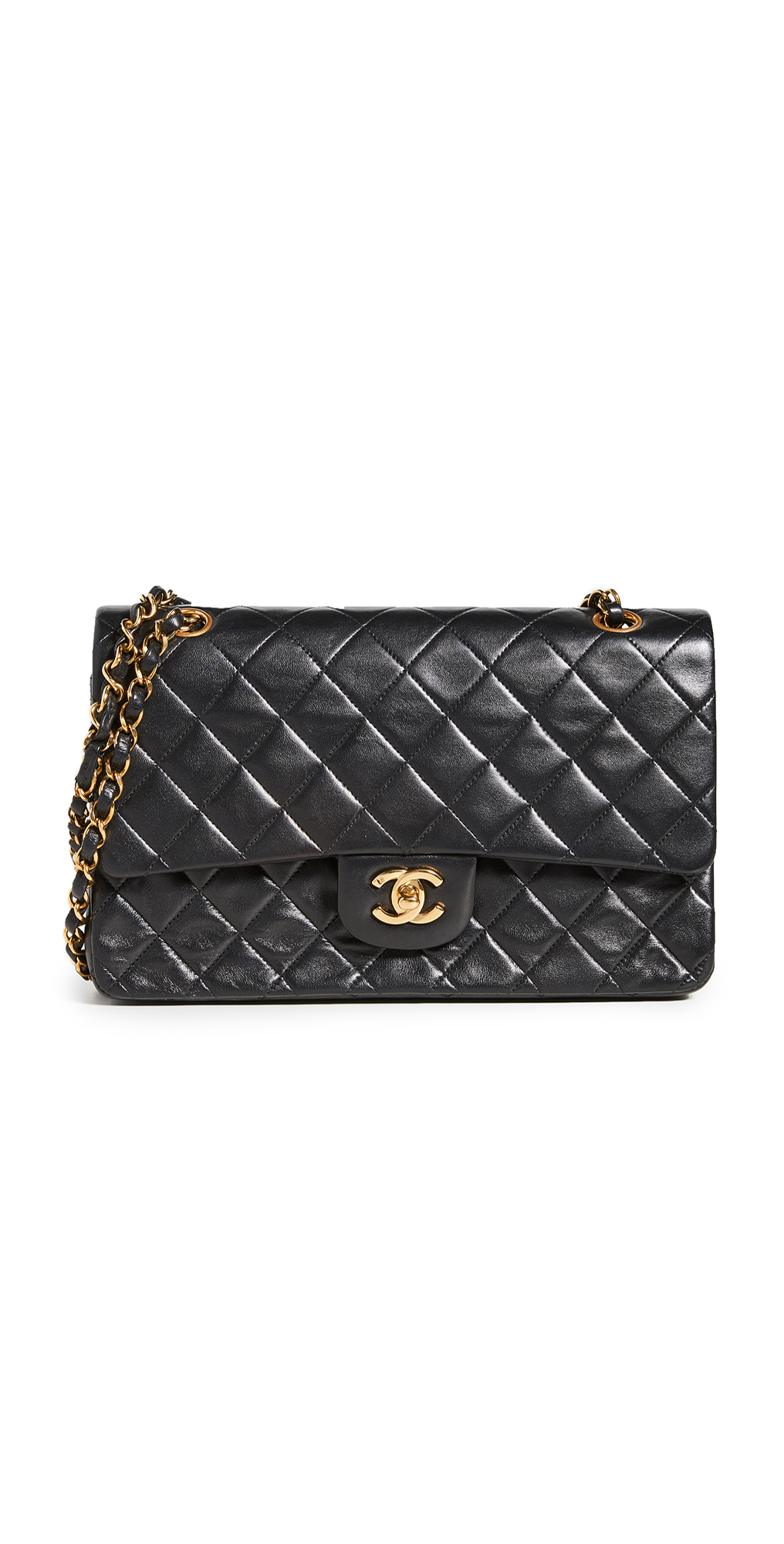 """What Goes Around Comes Around Chanel 10"""" Shoulder Bag"""