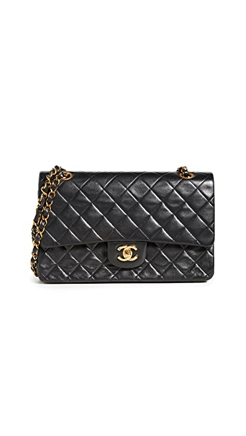What Goes Around Comes Around Chanel 10'' Shoulder Bag