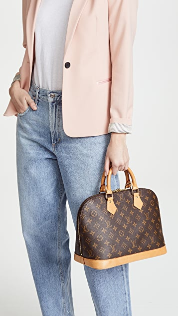 What Goes Around Comes Around Louis Vuitton Monogram Alma Bag