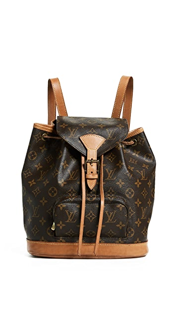 What Goes Around Comes Around Louis Vuitton Monogram Montsouris Backpack