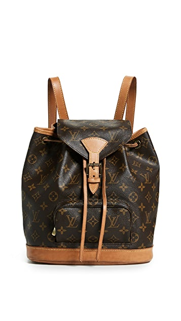 What Goes Around Comes Around Рюкзак Louis Vuitton Montsouris с монограммами
