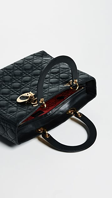 ... What Goes Around Comes Around Dior Lady Dior Bag ... 854d17f37922a