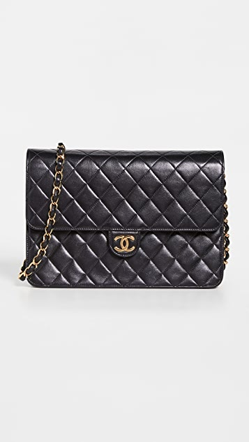 What Goes Around Comes Around Chanel 旋扣 10 英寸包(旧款)