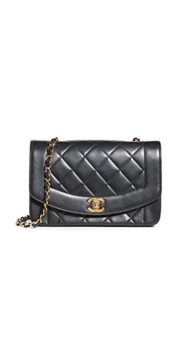 What Goes Around Comes Around Chanel Classic Flap Bag (Previously Owned) - Black
