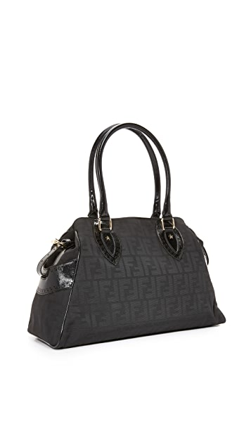 What Goes Around Comes Around Fendi Zucca Du Jour Bag (Previously Owned)