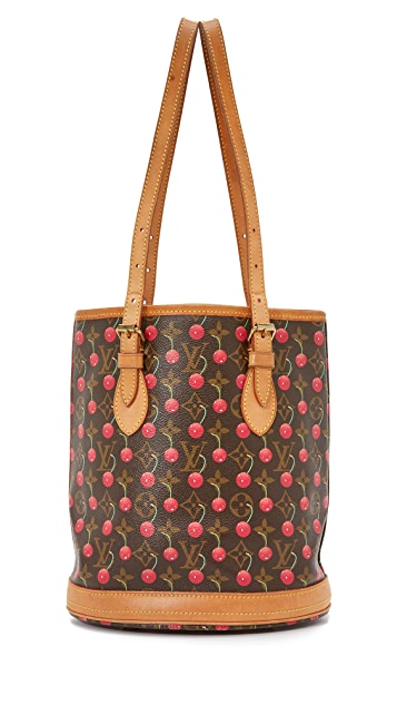 25e01d49c4 What Goes Around Comes Around. Louis Vuitton Cerises Bucket Bag (Previously  Owned)
