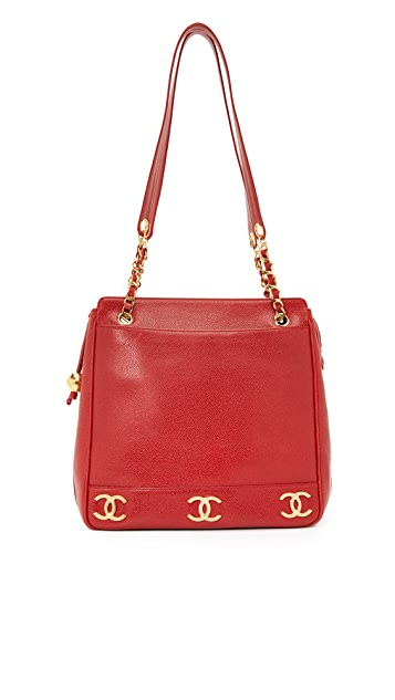 What Goes Around Comes Around Chanel CC Tote (Previously Owned)