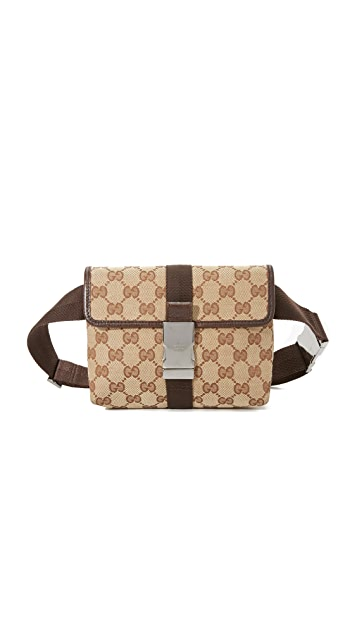 36ddc6be23c8 What Goes Around Comes Around Gucci Waist Bag (Previously Owned ...