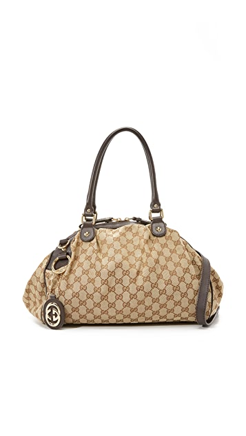 a28e0d602 What Goes Around Comes Around. Gucci Sukey Boston Bag (Previously Owned)