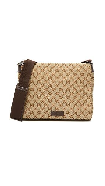 What Goes Around Comes Around Gucci Small Messenger Bag (Previously Owned)