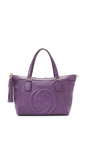 What Goes Around Comes Around Gucci Leather Soho Bag (Previously Owned)