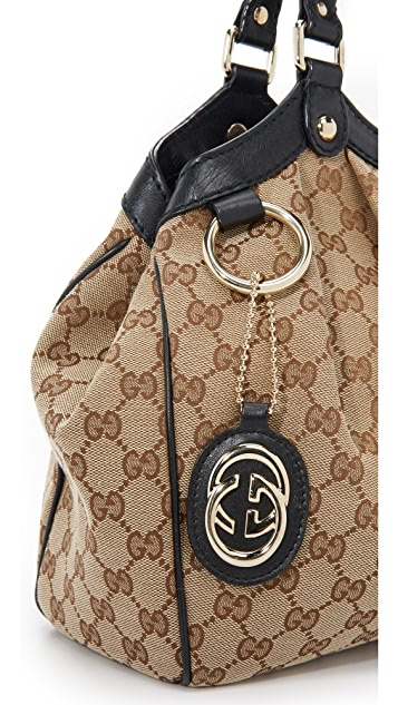 What Goes Around Comes Around Gucci Britt Shopper Bag (Previously Owned)