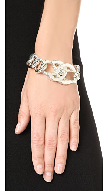 What Goes Around Comes Around Chanel Turn Lock Bracelet (Previously Owned)