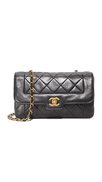 What Goes Around Comes Around Chanel Tab Shoulder Bag (Previously Owned)