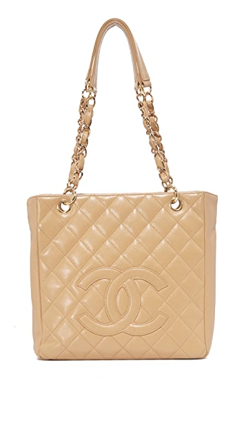 What Goes Around Comes Around Chanel CC Small Tote (Previously Owned)