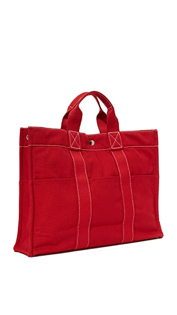 What Goes Around Comes Around Hermes Deauville Tote (Previously Owned)