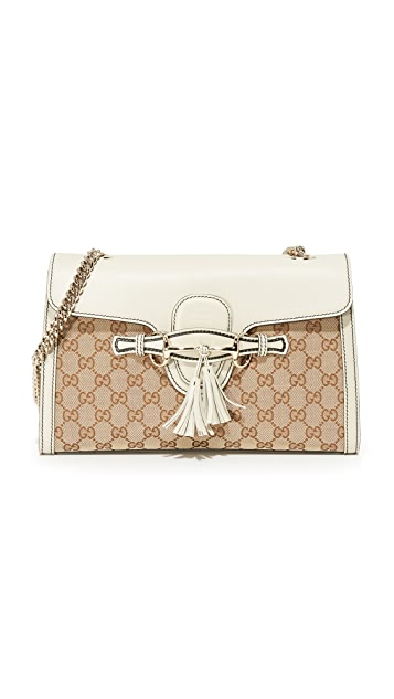 What Goes Around Comes Around Gucci Emily Shoulder Bag (Previously Owned)