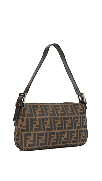 What Goes Around Comes Around Fendi Zucca Baguette Bag (Previously Owned)