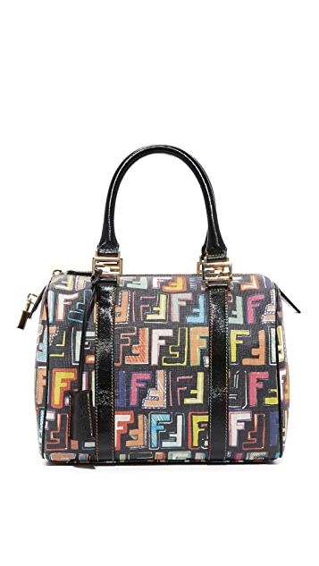What Goes Around Comes Around Fendi Forever Boston Bag (Previously Owned)