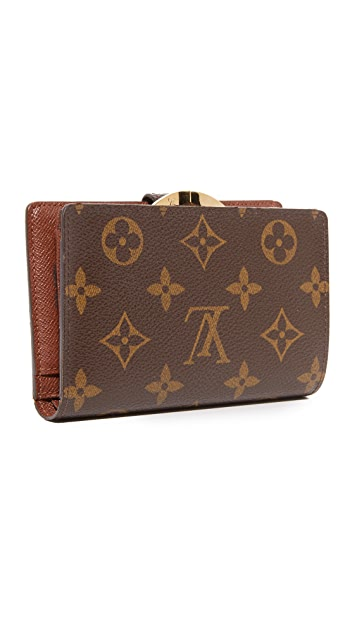 What Goes Around Comes Around Louis Vuitton Long Snap Wallet (Previously Owned)