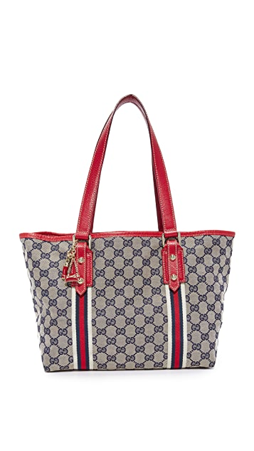 What Goes Around Comes Around Gucci Joli Coeur Tote (Previously Owned)
