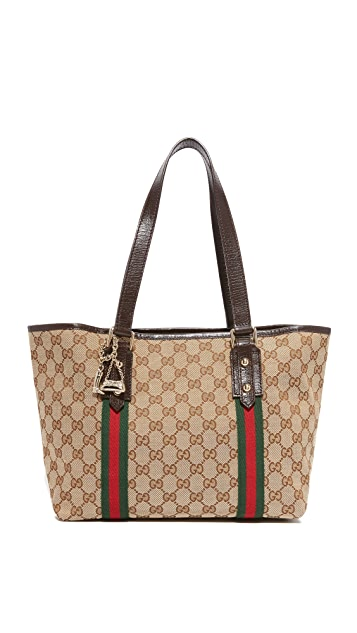 2c550d5bee9c What Goes Around Comes Around Gucci Jolicoeur Tote (Previously Owned ...