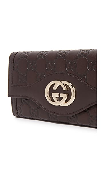 What Goes Around Comes Around Gucci Interlock Wallet (Previously Owned)