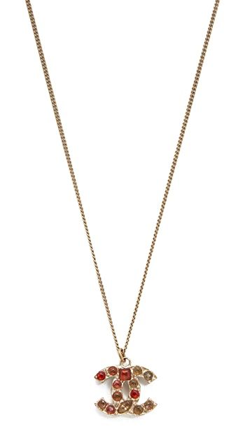 What Goes Around Comes Around Previously Owned Chanel CC Necklace