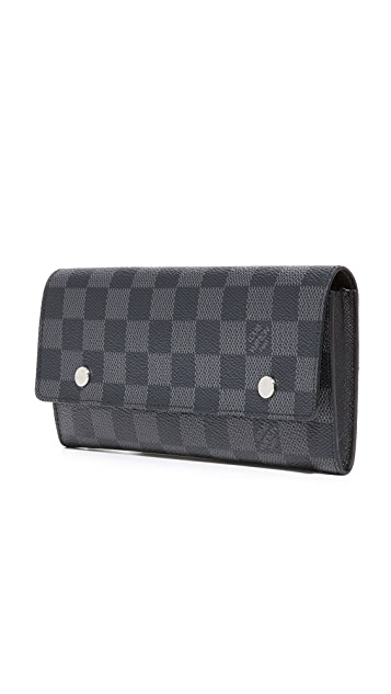 What Goes Around Comes Around Louis Vuitton Graphite Modulable Wallet (Previously Owned)