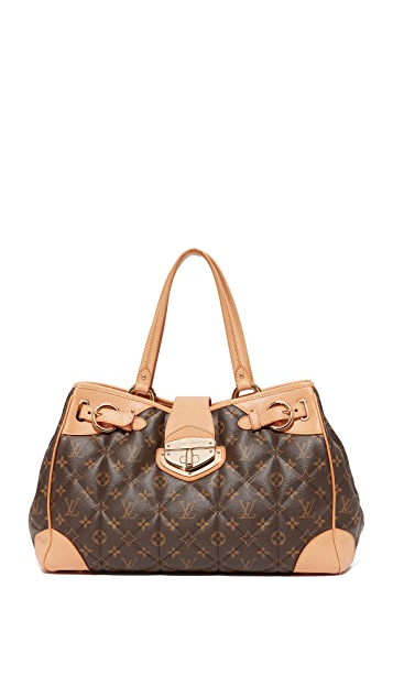 What Goes Around Comes Around Louis Vuitton Etoile Top Handle Shopper Bag (Previously Owned)