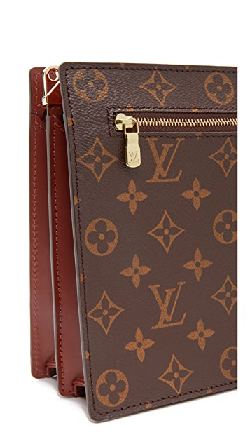 What Goes Around Comes Around Louis Vuitton Monogram Rectangular Shoulder Bag (Previously Owned)