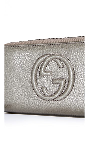 What Goes Around Comes Around Gucci Soho Wallet (Previously Owned)