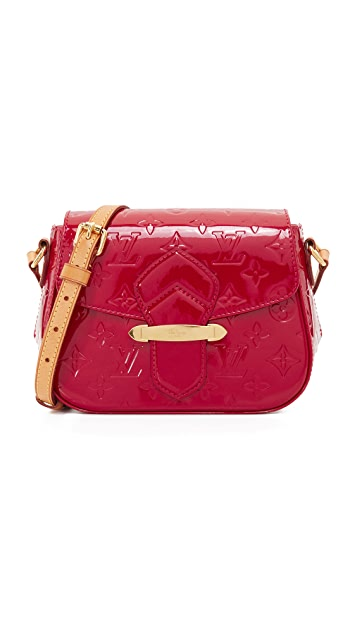 What Goes Around Comes Around Louis Vuitton Vernis Bellflower Bag (Previously Owned)