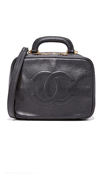 c05abc0f1dec What Goes Around Comes Around. Chanel Caviar Lunchbox Vanity Bag ...