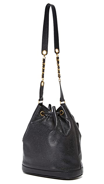 What Goes Around Comes Around Chanel Caviar Bucket Bag (Previously Owned)