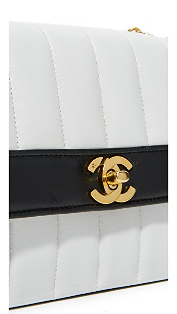 What Goes Around Comes Around Chanel Vertical Flap (Previously Owned)
