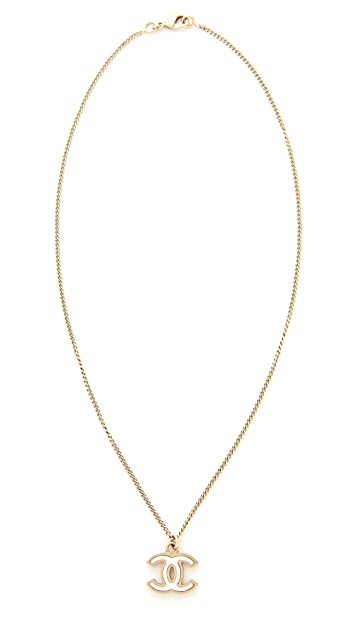 What Goes Around Comes Around Chanel CC Necklace (Previously Owned)