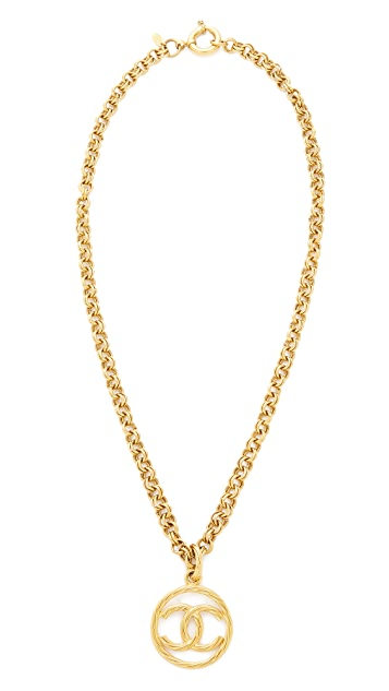 What Goes Around Comes Around Chanel Rope CC Necklace (Previously Owned)