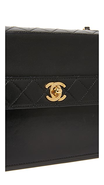 What Goes Around Comes Around Chanel Trapezoid Bag (Previously Owned)